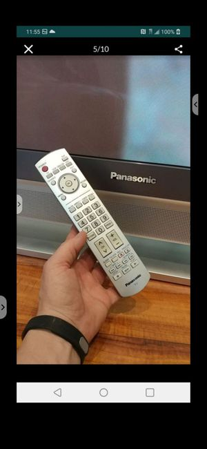 Panasonic plasma 50inch witch remote works good for Sale in Schaumburg, IL