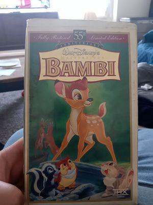 Bambi vhs for Sale in Audubon, NJ