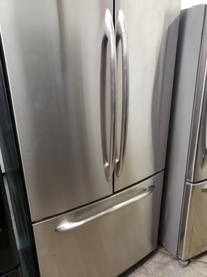 GE stainless steel counter depth refrigerator for Sale in South Norfolk, VA