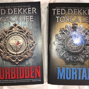 The Book Of Mortals Series Books 1 & 2 (Forbidden, Mortal) for Sale in Norman, OK