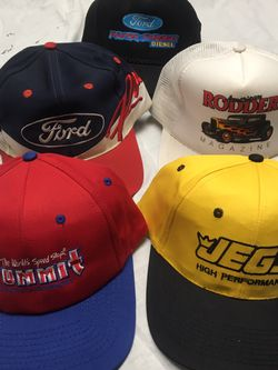 Vintage Auto Hot Rod Snap Back Hats for Sale in Renton,  WA