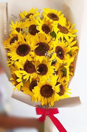 20 Beautiful Fresh Sunflowers Bouquet for Sale in Los Angeles, CA