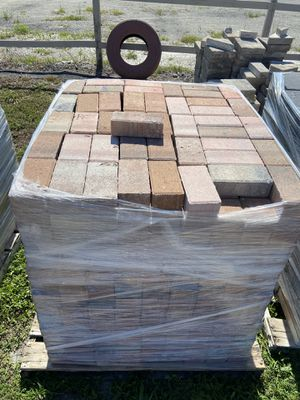 150 sqt of 4x8 mix colors pavers. for Sale in Melbourne, FL