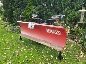 Boss 8' plow. Just plow for Sale in Wheeling, IL