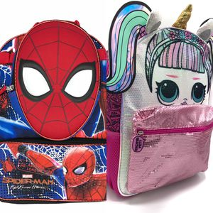 NEW! LOL Surprise Dolls & 2 piece spiderman backpack set for Sale in Long Beach, CA
