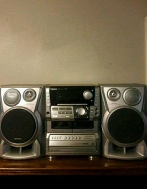 Aiwa stereo system with c.d., cassette player and karaoke. for Sale in Phoenix, AZ
