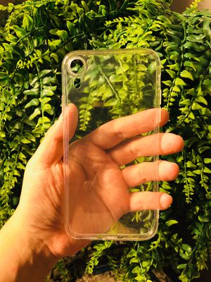 Brand new cool iphone XR case cover rubber Clear transparent see through mens women's guys girls for Sale in San Bernardino, CA