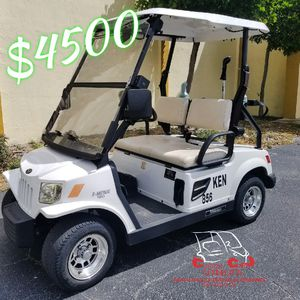 2009 White Tomberlin E-Merge 500 Golf Cart for Sale in West Palm Beach, FL