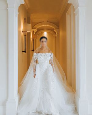 Custom designed wedding dress for Sale in Eden Prairie, MN