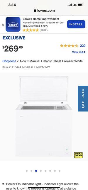 Chest Freezer for Sale in Miami, FL