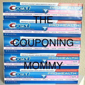 Oral Care Bundle w/ Crest Pro Health Sensitive Toothpaste Bundle (( 5 tubes )) for Sale in Clovis, CA