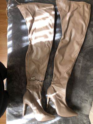 Over The Knee Boots Poninted Toe Thigh High Bootie for Sale in Los Angeles, CA