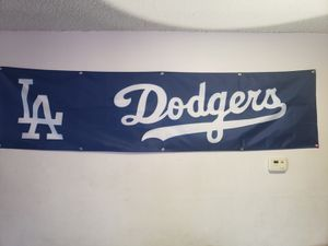 Los Angeles Dodgers 2x8 Tailgate Flag for Sale in Downey, CA