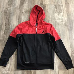 Air Jordan Youth Activewear Lightweight Zip Hoodie Jacket Large for Sale in Salt Lake City, UT