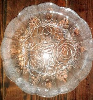 Vintage Pasari Crystal Coupe soup bowls Livia collection Argonne Hall, LLC for Sale in Tampa, FL