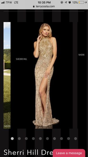 Gold dress (Sherri Hill) for Sale in College Park, MD