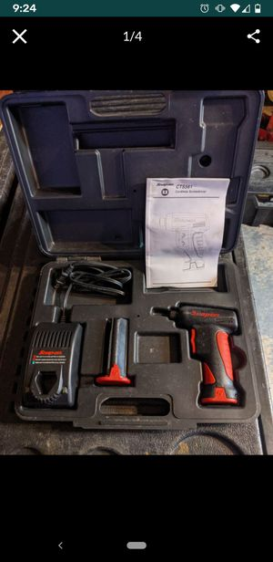Snap On cordless driver for Sale in Lakeland, FL