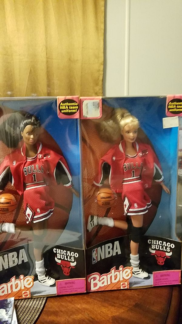 NBA Barbie doll Chicago Bulls