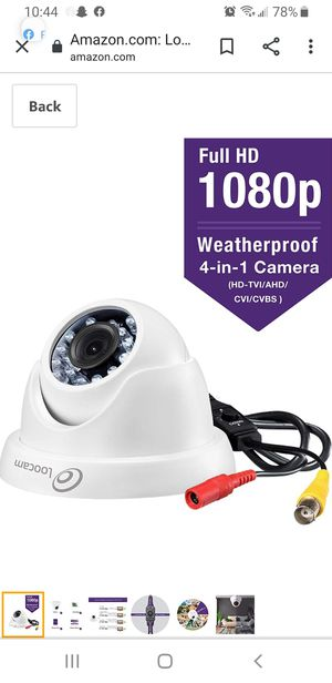 Loocam security cameras for Sale in Cottage Grove, MN