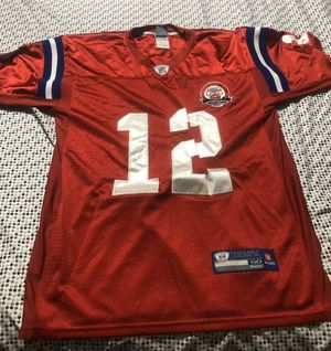 New England Patriots Brady Jersey Reebok Size Large for Sale in Hoffman Estates, IL