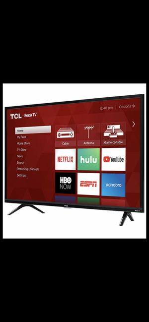 32 inch TCL Roku Smart HD TV Wi-Fi HDMI $100 OBO for Sale in Anaheim, CA