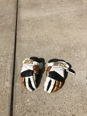STX Surgeon lacrosse gloves (medium) for Sale in Raleigh, NC