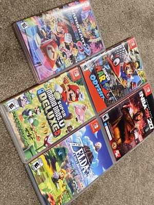 Nintendo switch games for Sale in Clovis, CA