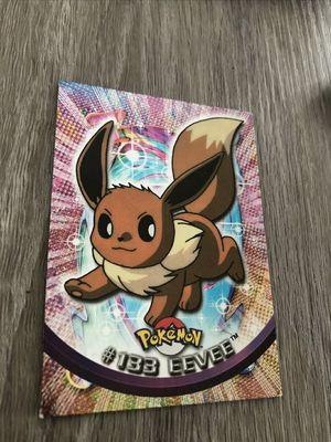 Eevee 133 TOPPS Pokemon Card - Foil NM for Sale in Davenport, FL