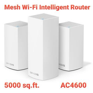 Linksys AC4600 Intelligent Mesh Tri-Band WiFi Wi-Fi Router 5000 Sq ft for Sale in Hollywood, FL