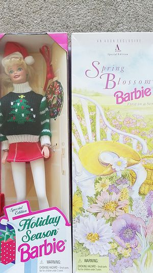 Collectable barbies for Sale in West Jordan, UT