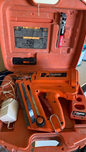 Paslode impulse framing nail gun for Sale in Detroit, MI