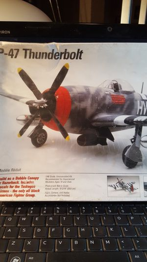 Testors P-47D Thunderbolt plastic model kit. for Sale for sale  Horizon City, TX