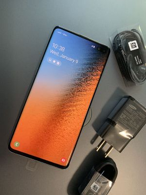 Samsung Galaxy S10 Plus,, Factory Unlocked, Excellent Condition..As like New. for Sale in Springfield, VA