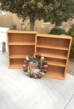 Solid wood bookshelves for Sale in Phoenix, AZ