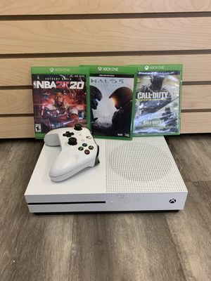 Xbox One S - 500gb - Controller - 3 games - Cables - 8641-1 for Sale in Medford, MA