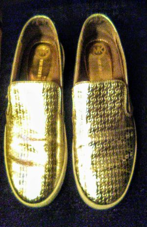 Michael Kors Gold Shoes for Sale in Lake Alfred, FL