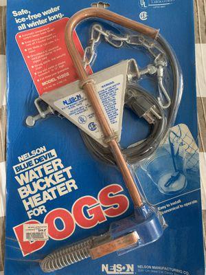 Nelson water bucket heater for Sale in Detroit, MI