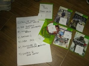 7 Xbox 360 games for Sale in Eagle Lake, FL