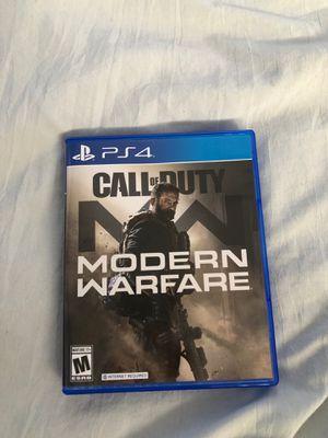 Call of Duty Modern Warfare PS4 for Sale in Garden Grove, CA