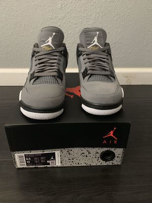 Jordan 4 cool grey 8.5 brand new.. NO TRADES FIRM ON PRICE for Sale in Sacramento, CA