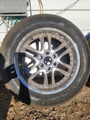 """Set of 20"""" rims with tires for Sale in Henderson, NV"""