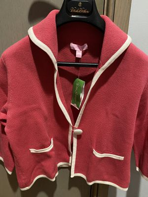 Lilly Pulitzer Nanette Cardigan. Pink Coral. Size S. Brand new with tags. for Sale in Seymour, CT