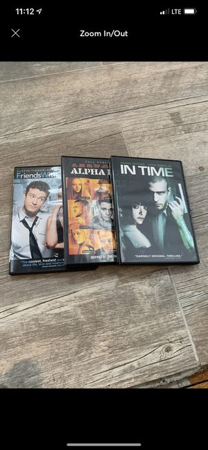 Justin Timberlake DVD's for Sale in East Providence, RI