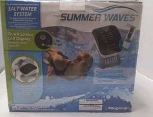 Summer waves salt water system for Sale in Ijamsville, MD