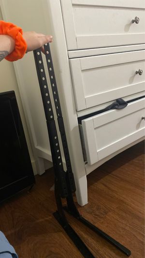 Two universal tv stands legs for Sale in Miami, FL