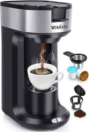 Mosfiata single serve coffee maker cups coffee grounds and tea bags for Sale in Depoe Bay, OR