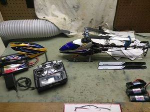 Align t Rex heli with lots of extras for Sale in North Miami Beach, FL