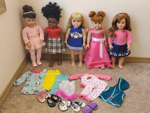 """Springfield & My Generation 18"""" Dolls & Clothing for Sale in Vancouver, WA"""