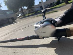 New Shimano and Cousins fishing rod and reel for Sale in Huntington Beach, CA