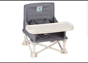 Travel Booster Seat with Tray for Baby for Sale in Barstow, CA